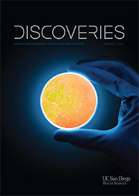 Discoveries Magazine 2015 cover