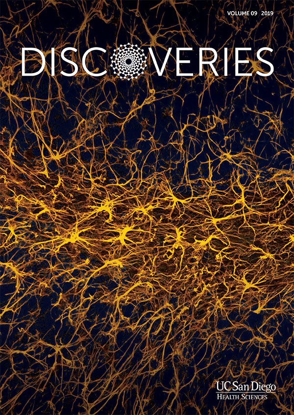 Discoveries Magazine cover