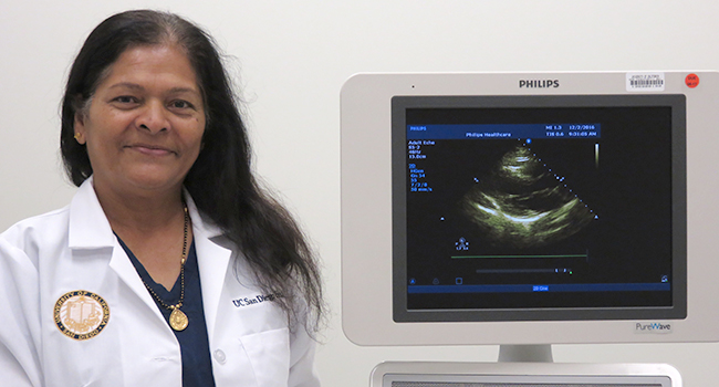 Registered Sonographer Mina Trivedi