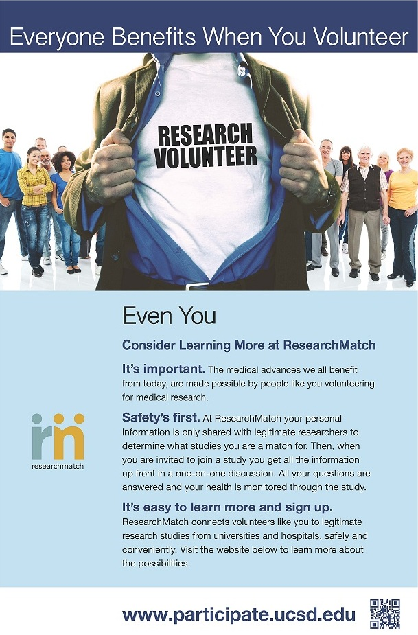 Research Volunteer Poster