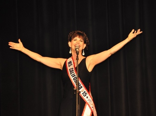 Reina Bolles, Ms. California - Ms. Senior America Pageant
