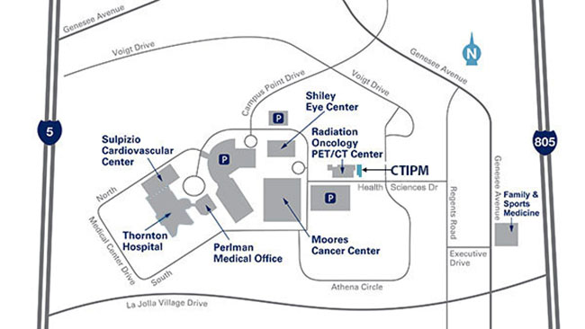 location map for CTIPM