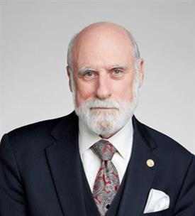 Vinton (Vint) G. Cerf, Ph.D Head Shot