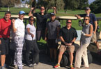 San Diego Fellows learning first-hand about the hazards of golf