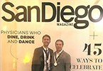 Drs. Taylor and Shahtaji representing at the 2017 San Diego Top Doctor's Gala.