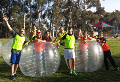 Outdoor Education Lecture: Bubble Soccer Injuries!