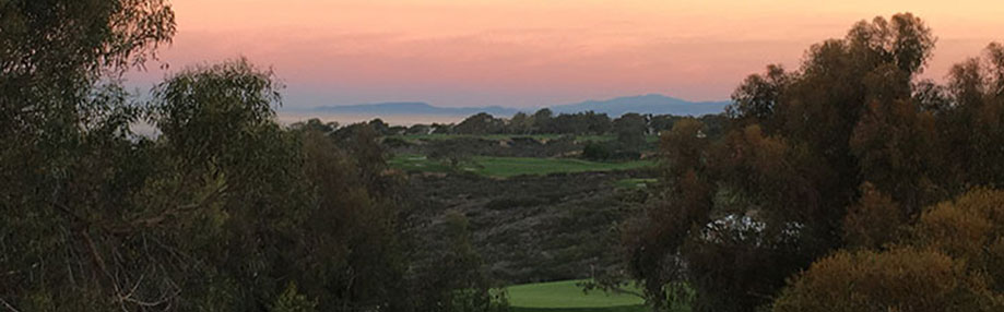 View looking north to Torrey Pines Golf Course