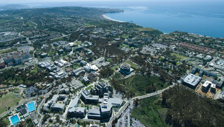 UC San Diego Aerial View