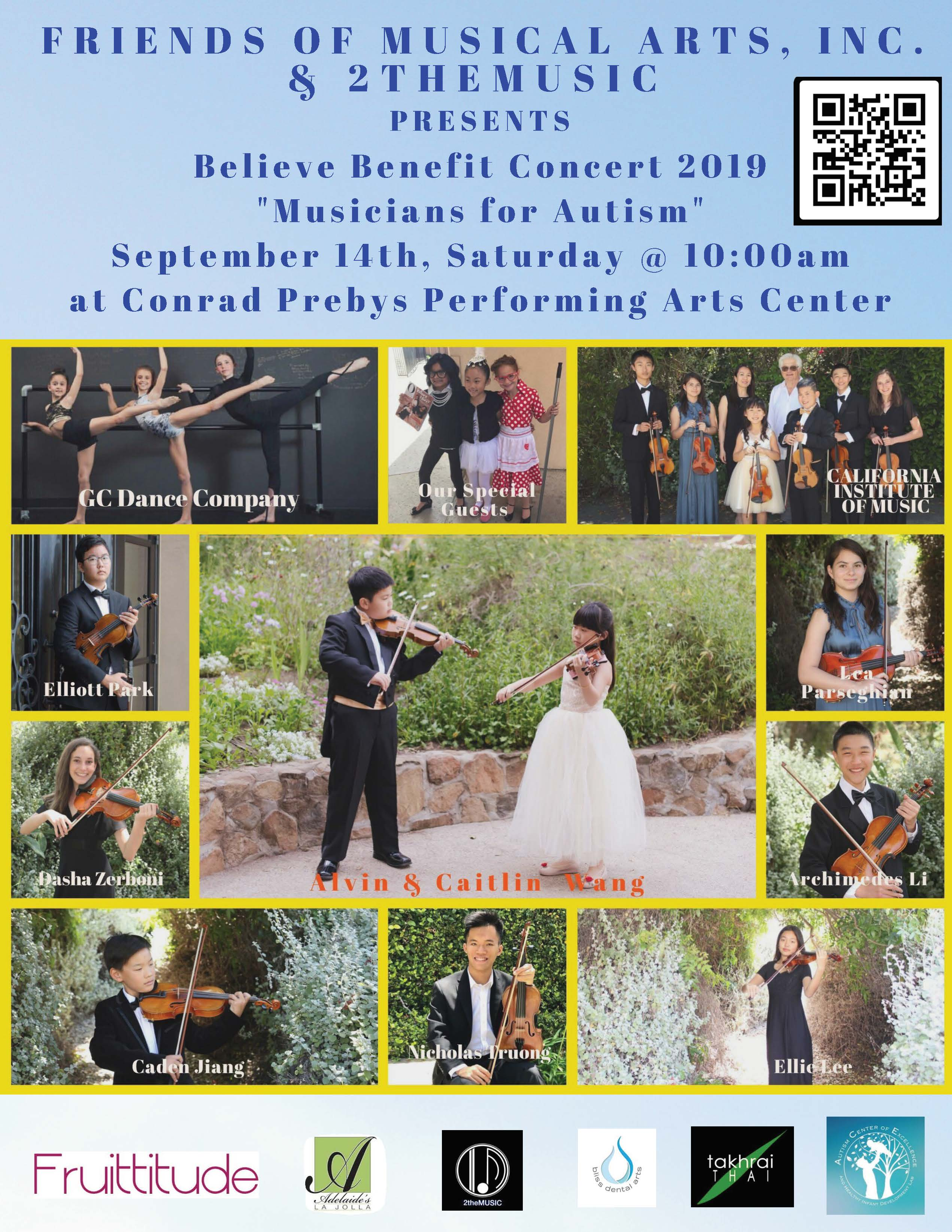 Believe Benefit Concert 2019