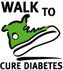 Walk to Cure Diabetes Logo