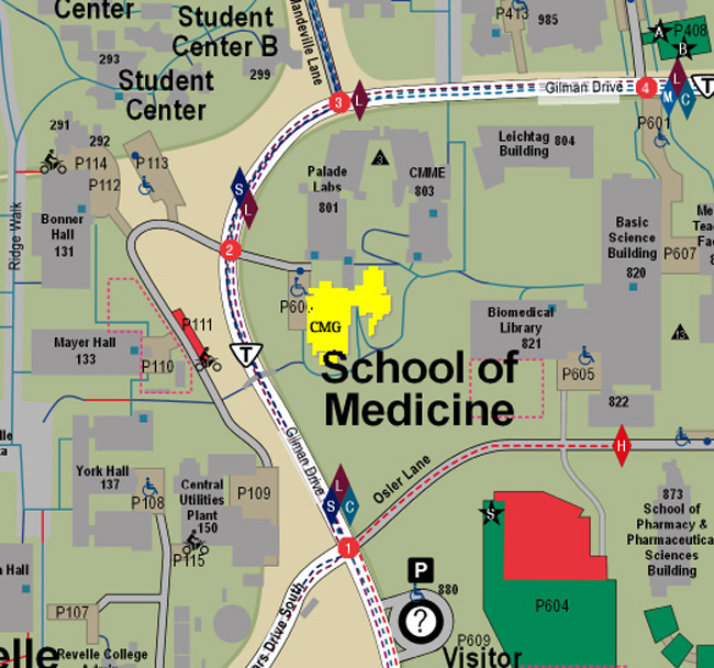 School of Med Map